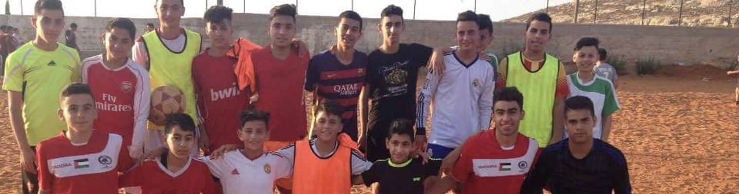Abwein Football Club - Palestine :: Run4 Foundation