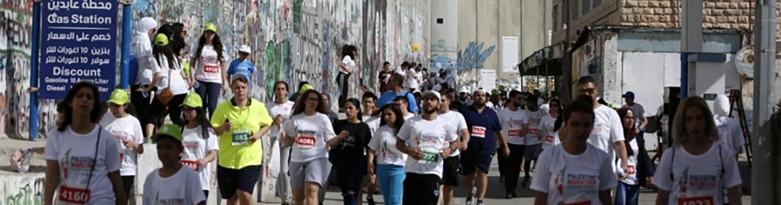 Marathon van Palestina - Bethlehem :: Run4