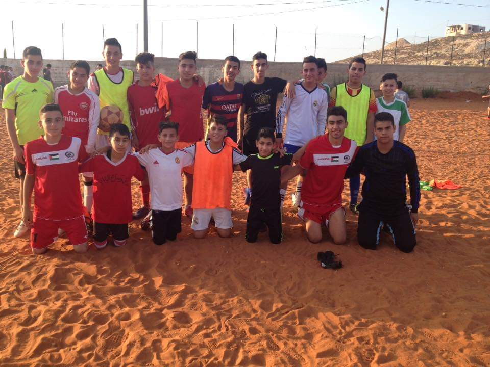 Football Team Abwein Sportsclub Palestine // Run4 Foundation // Stichting Run4