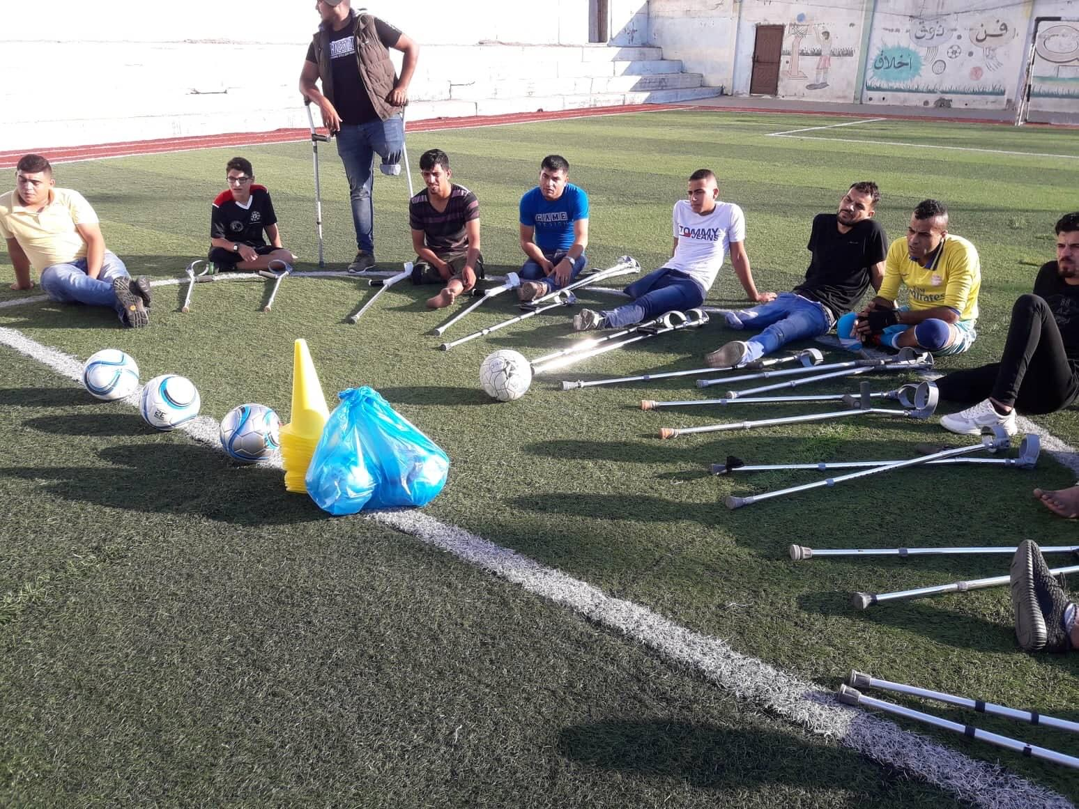 Al Salam Sports Club for Disabled People in Gaza
