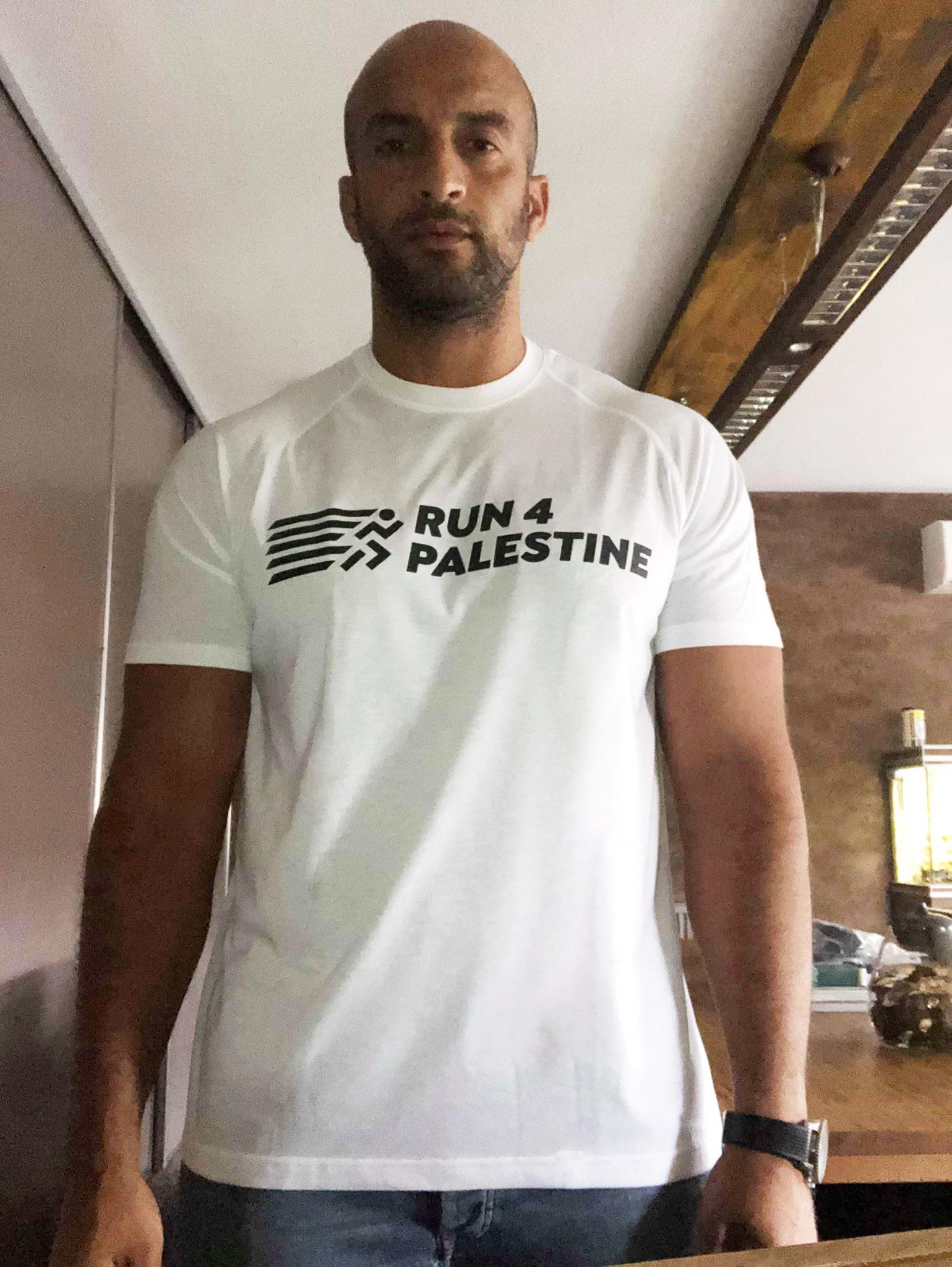 Walid Benmbarek // Run4 Palestine t-shirt